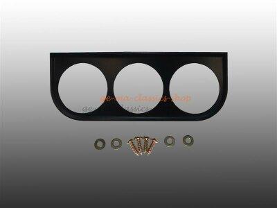 Instrumentenhalter schwarz 3-Loch