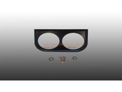 Instrumentenhalter schwarz 2-Loch