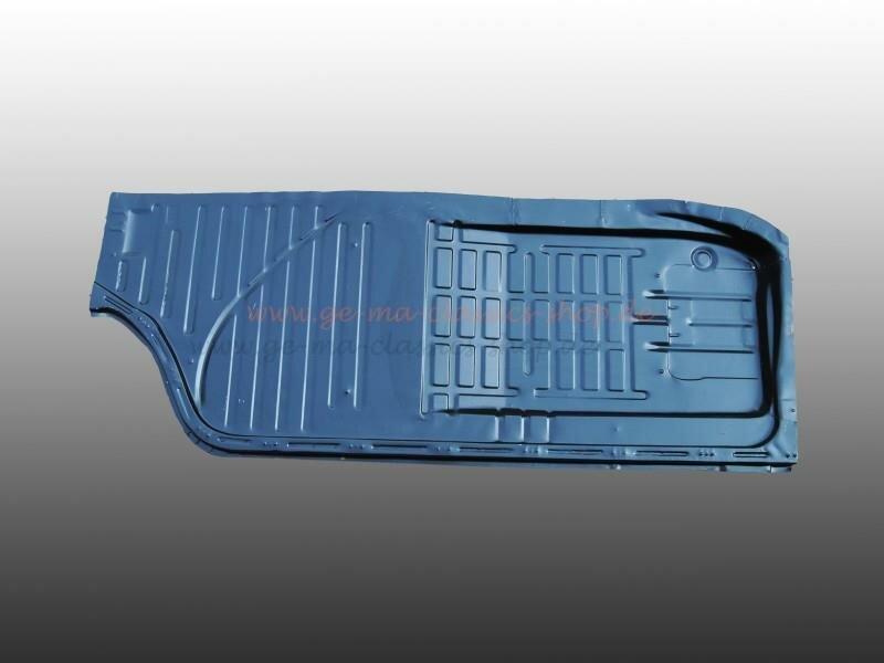 Bodenplatte Bodenhälfte Karmann Ghia links