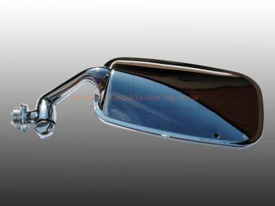Cabrio Außenspiegel links ab Bj 68 Edelstahl