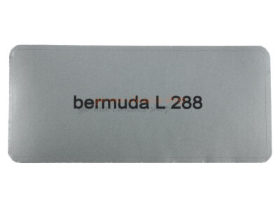 "Aufkleber ""bermuda L 288"""