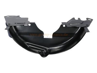 Verblechung unter Riemenscheibe schwarz für Typ1 Motor
