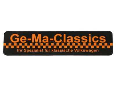 """""""Ge.-Ma.-Classics"""" Aufkleber Sticker rechteckig..."""