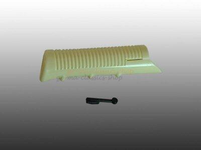 Verkleidung Handbremshebel Käfer Karmann Typ3 elfenbein
