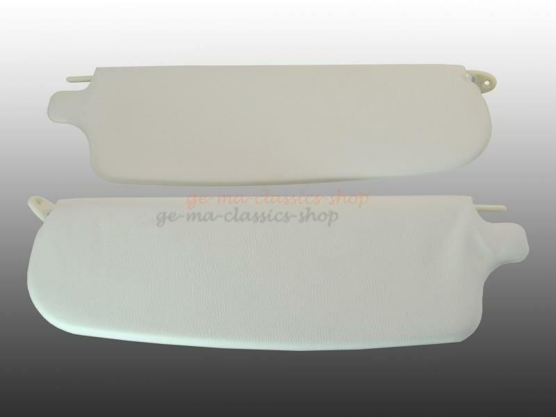 Sonnenblenden weiß Karmann Ghia Bj 65-74 Paar