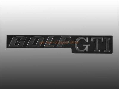 """""""GOLF GTI"""" Schriftzug hinten Golf 1 GTI"""