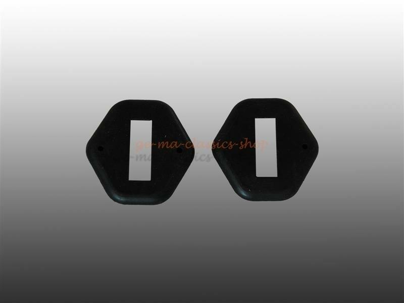Gummi-Dichtung Türfangband für VW Käfer BJ 56-61 Paar