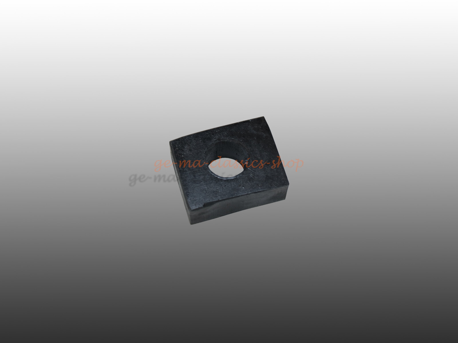 Gummiblock Aufbaustütze Unterlage Käfer Karmann Chassis 17mm