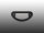 Dichtung Nasenglas für VW Käfer 58-63 Nummernschild-Beleuchtung
