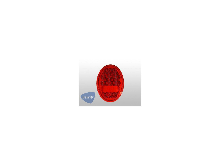 Rücklichtglas unten für VW Käfer Herzchenleuchte