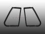 Drehfenster-Dichtungen für VW Käfer-Cabrio 65-72 Paar