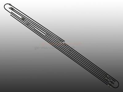 Bremsleitungen für VW Bus T2a Scheibenbremse 72